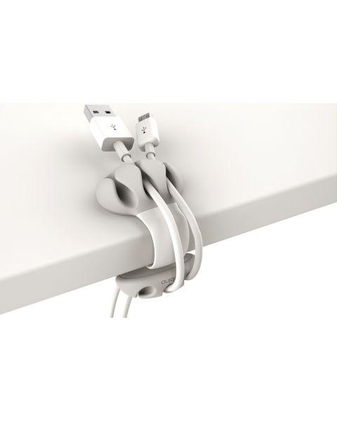 Bobino Desk Cable Clip - White (DECAC WH)