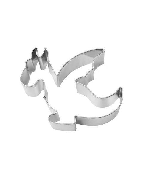 Birkmann Cookie Cutter Dragon, Stainless steel, 7 cm (191730)
