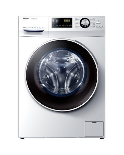 Haier Front Load Washer/Dryer, 10kg/6kg, 16 Programs, 1400 RPM, BLDC Inverter Motor, White (HWD100-BP14636)
