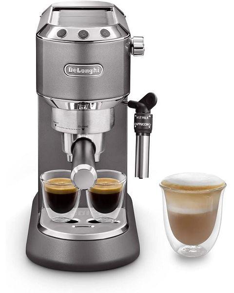 ديلونجي ماكينة صنع الإسبرسو ديديكا بقدرة 1300 وات 1,1 لتر De'Longhi EC785.gy Dedica Traditional Pump Espresso Coffee Machine