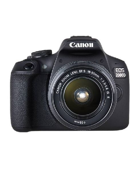 CANON EOS 2000D kit with18-55 - 24MP (EOS2000D) + Memory Card 16 GB + bag