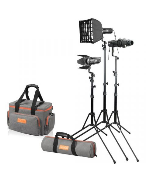 Godox S30-D Focusing LED 3-Light Kit (S30-D)