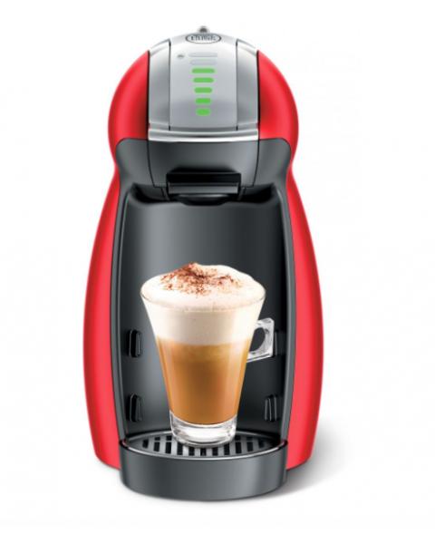 نسكافيه دولتشي غوستو جينو 2 صانعة قهوة, احمر (GENIO 2 RED)