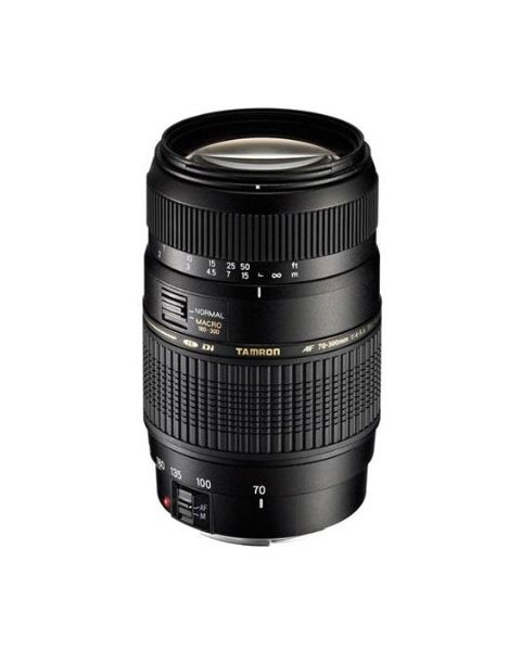 Tamron AF 70-300mm F/4-5.6 Di LD Macro lens for Canon (A17E-56)