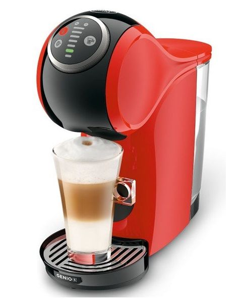 دولتشي قوستو ماكينة قهوة جينيو s  أوتوماتيك  – أحمر (GENIO S MACHINE FERRARI R)