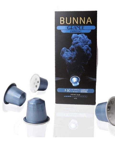 Bunna Espresso Grande 10 Capsules (BUNNA GRANDE)