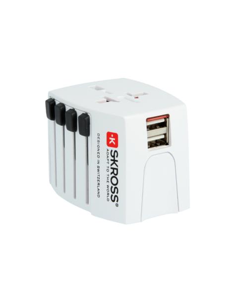 SKROSS MUV USB-World Travel Adapter (1.302930)