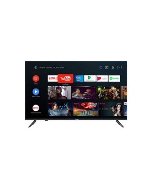"Haier TV 55"" 4K HQLED UHD HDR TV - Smart AI Android 9.0 ALL Screen Design (H55K6UGA)"