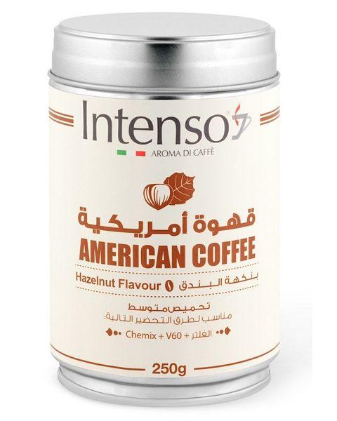 Intenso American Coffee Hazelnut Flavour (A-HAZELNUT8022180023725)