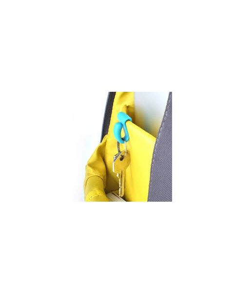 Bobino Key Clip, Turquoise (KC TQ)