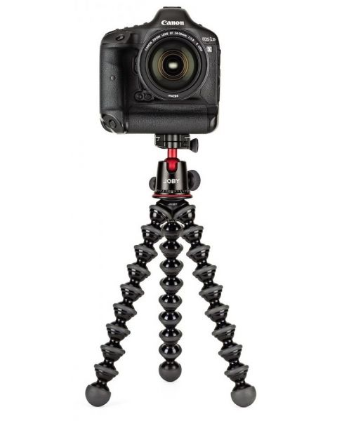 GorillaPod Aluminum Flexible Tripod for DSLR and Mirrorless Cameras with Head  (JBJ508)