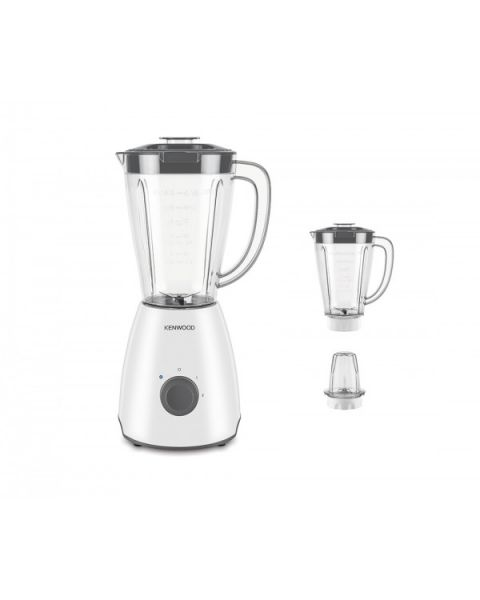 Kenwood BLP10.E0WH 400 Watts 1.5L Blender with 1 Mill+ 2 Jug (OWBLP10.E0WH)