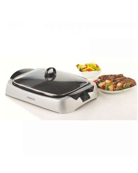 Kenwood HEALTH Grill HG266, Silver (OWHG266006)