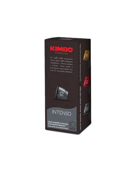 Kimbo Intenso Capsules - Nespresso Compatible, 10 capsules (K-INTENSO8002200145682)