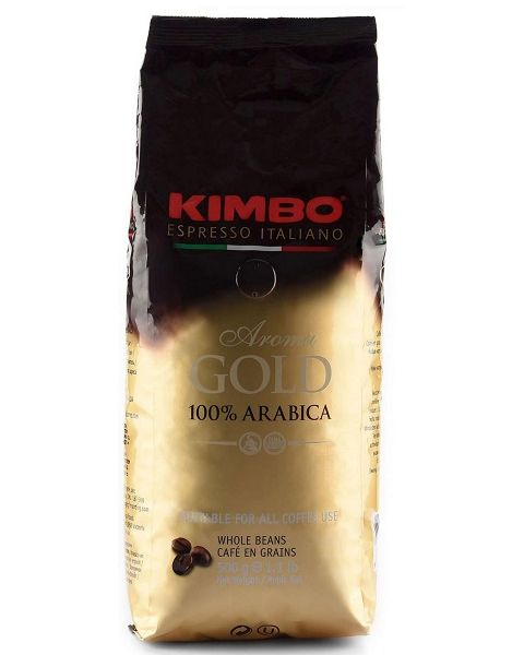 Kimbo Espresso Gold, 100% Arabica 500g (K-AROMAGOLD8002200102159)
