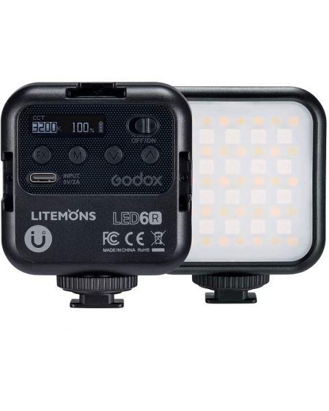 Godox RGB LED Video Light (LED6R)