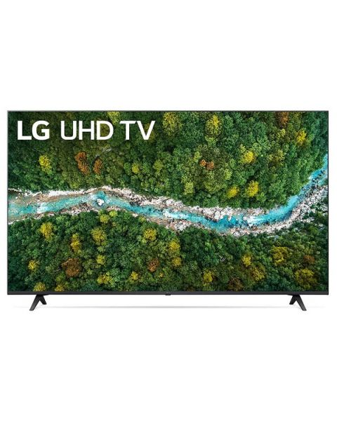 LG UHD 4K TV 55 Inch UP77 Series, Cinema Screen Design 4K Active HDR WebOS Smart AI ThinQ (55UP7750PVB)