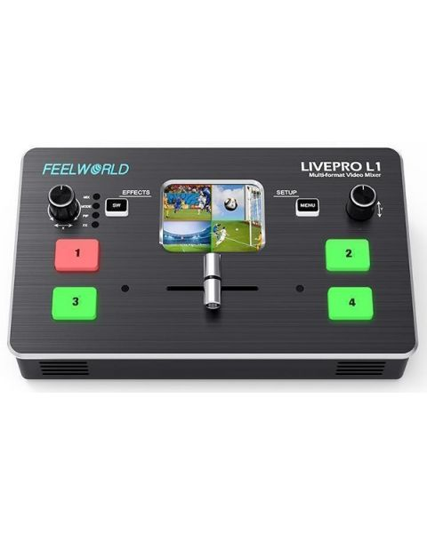 FEELWORLD LIVEPRO L1 Multi-format Video Mixer Switcher (FEELWORLD-L1)