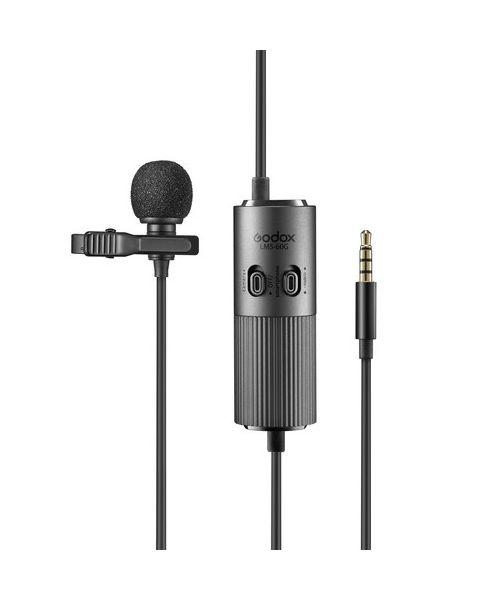 Godox LMS-60G Omnidirectional Lavalier Microphone Standard Gain