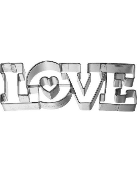 Birkmann Cookie Cutter Love lettering 11cm (198142)
