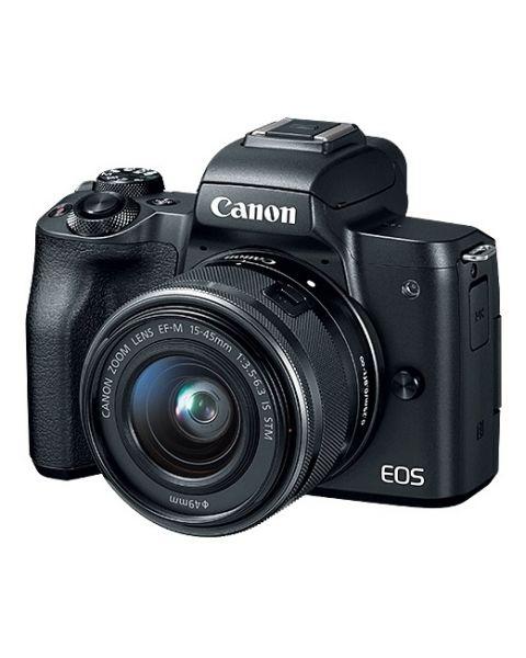 Canon EOS M50 EF-M 15-45mm IS STM Kit Black (EOSM50-BK)