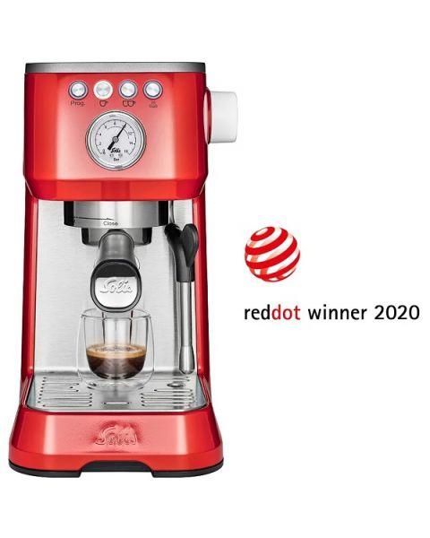 Solis Barista Perfetta Plus Coffee Maker Type 1170 - Red
