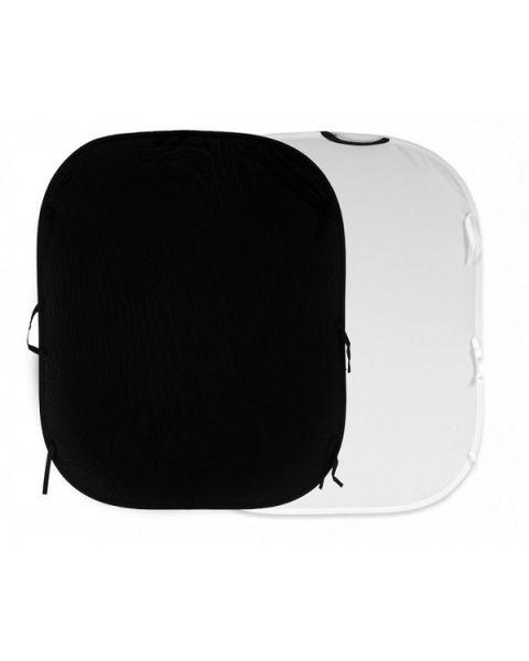 Manfrotto Plain Collapsible Reversible 1.8 x 2.1m Black/White (LL-LB5921)