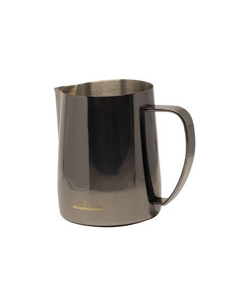 لا باريستا إبريق تبخير الحليب أسود 350 مل (LB-764)
