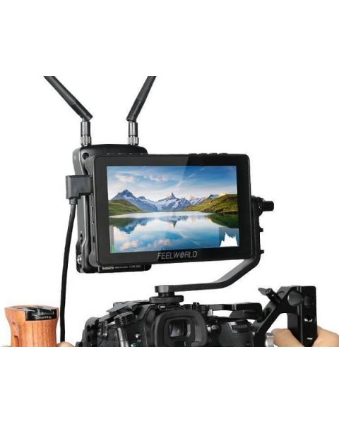FEELWORLD F5 Pro V2 5.5 Inch Touch Screen DSLR Camera Field Monitor 3D (FEELWORLD-F5PRO-V2)