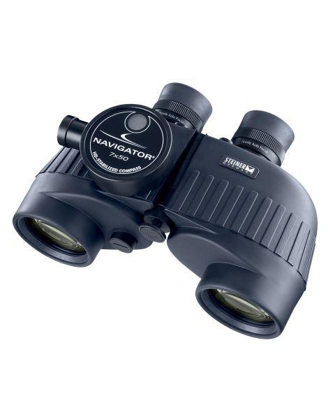"""ستاينر، منظار """"نافيجيتور برو 7×50"""" مزود ببوصلة STEINER Binocular 7X50 NAVIGATOR PRO-front"""