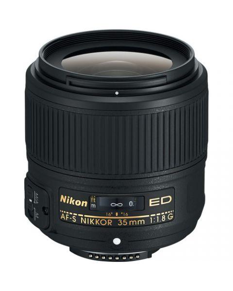 Nikon AF-S NIKKOR 35mm f/1.8G ED Lens (JAA137DA)
