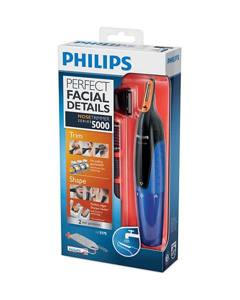 Philips Nose trimmer Series 5000 Gentle Nose, Neck & Sideburns Trimmer (NT5175/16)