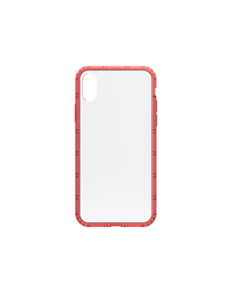 Philo Hard Case Soft Bumper Iphone x - Red (PH024RD)