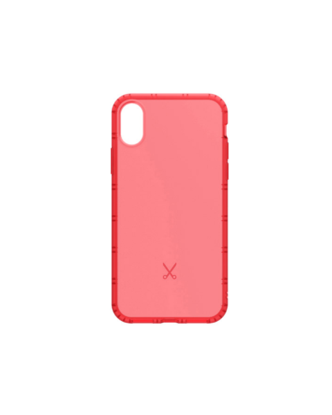 Philo Air Shock Hard Case For iPhone X - Red (PH025RD)