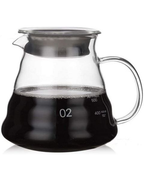 La Barista Glass Hand Drip Coffee Pot (LB-626)
