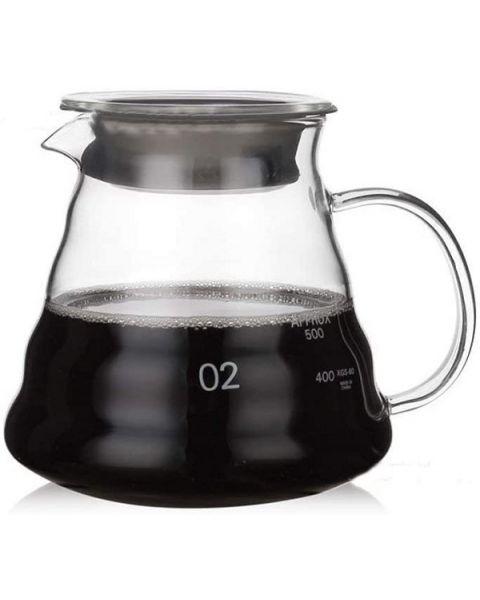 لا باريستا إبريق قهوة زجاجي  (LB-625)
