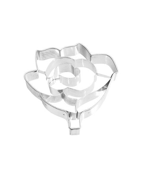 Birkmann Cookie Cutter Rose, Stainless steel (190382)