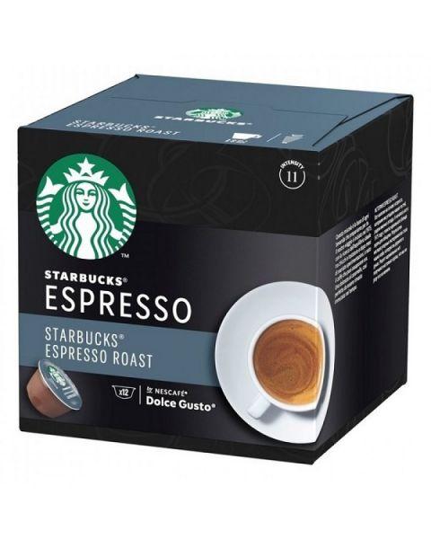 Starbucks Dark Espresso Capsules By Nescafe Coffee Pods Box of 12 (SBUX ESPRESSO-HC)