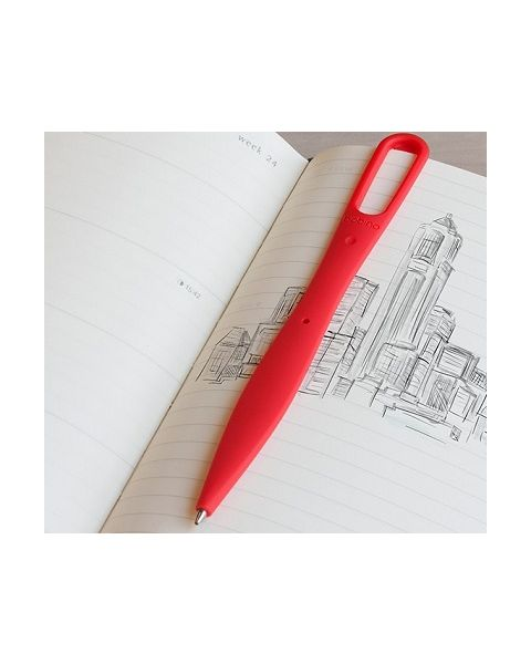 Bobino Bookmark Pen - Red ( BOMAP RD )