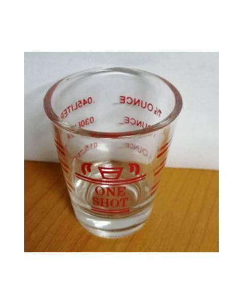 La Barista Measuring Cup 45ml - Red color (LB-651)