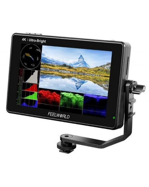 FEELWORLD LUT7 7 Inch 2200nits 3D LUT Touch Screen DSLR Camera Field Monitor (FEELWORLD-LUT7)