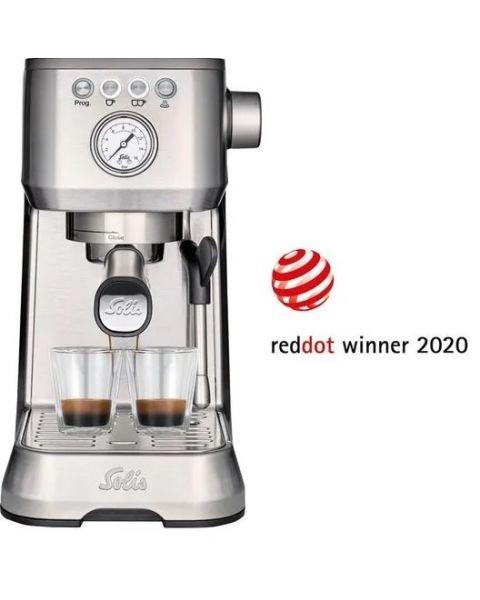 Solis Barista Perfetta Plus Coffee Maker Type 1170 - Silver