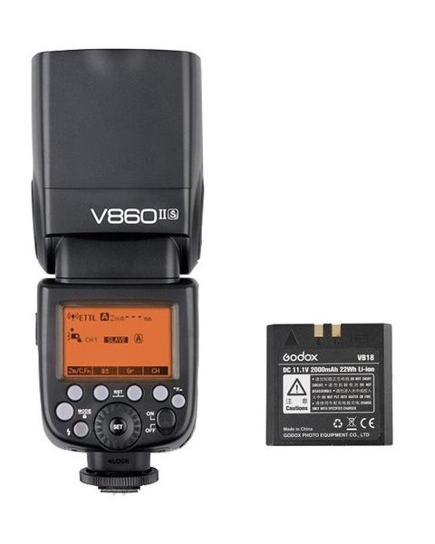 Godox V860 Lithium Flash for Sony Cameras (V860IISKIT)