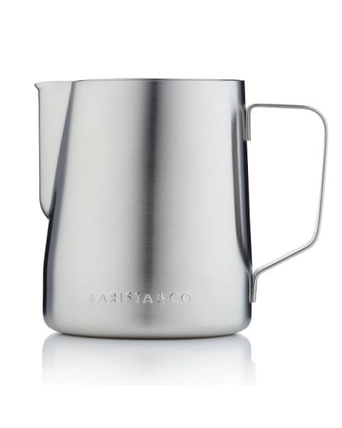 Barista & Co Core Coffee Milk Frothing Jug 600ml - Steel (BC046-005)