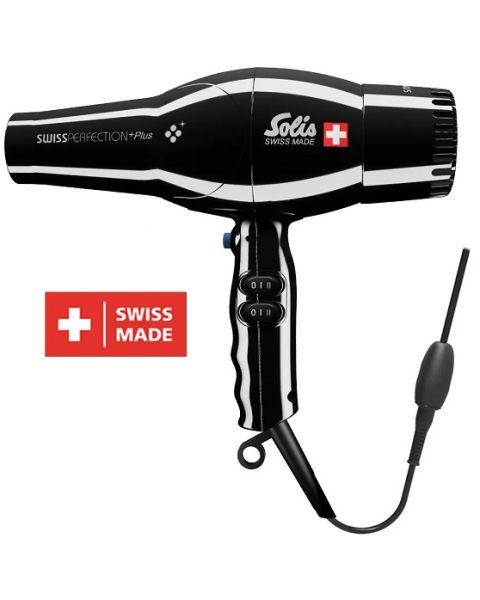 SOLIS Swiss Perfection Hair Dryer Black Plus (Type 3801)
