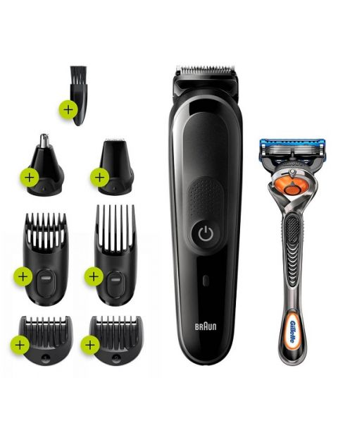 Braun All-in-One trimmer 5 for Face, Hair, and Body 8-in-1 (MGK5260)