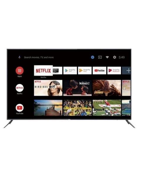 """Haier TV 75"""" 4K HQLED UHD HDR TV - Smart AI Android 9.0 (H75S5UG)"""