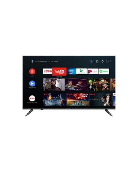 "Haier TV 50"" 4K HQLED UHD HDR TV - Smart AI Android 9.0 ALL Screen Design (H50K6UGA)"