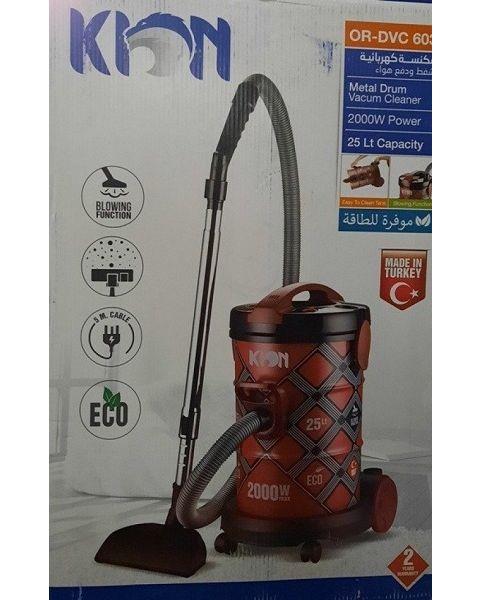 KION Vacuum CLEANER 2000 W Power & 25L Capacity (OR-DVC 603)