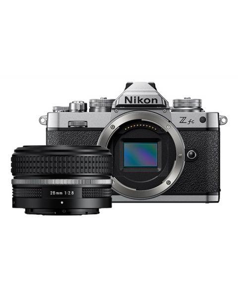 Nikon Z fc Mirrorless Camera Black 28mm Kit (VOK090WM)